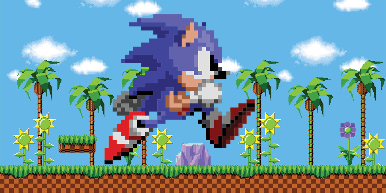Sonic A 2d Classic Hero Collector