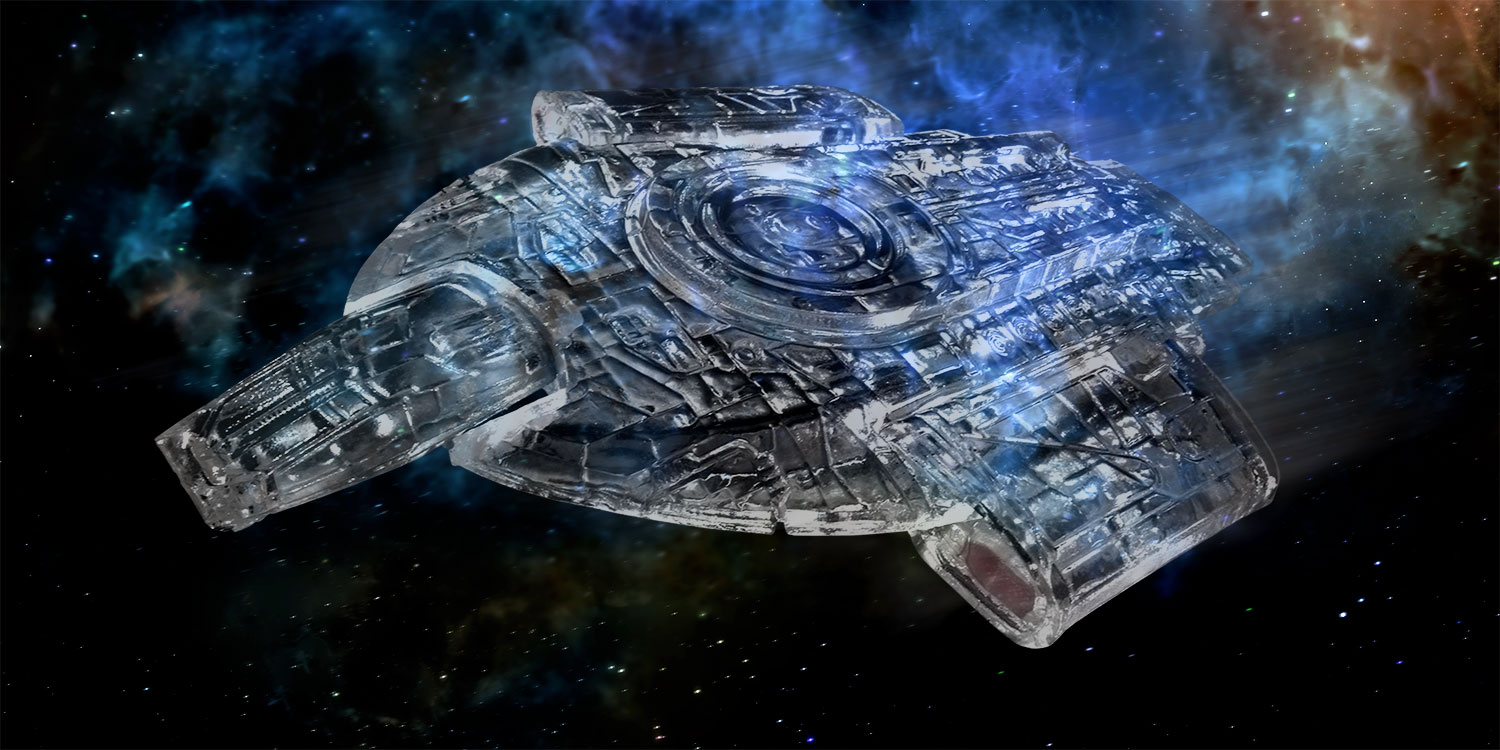 Star Trek Starships: Cloaked Defiant Con Exclusive - Hero Collector