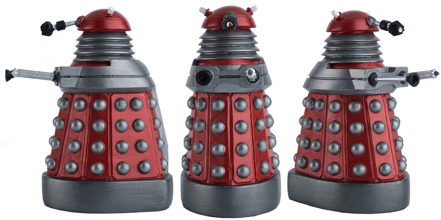 Star Cutouts Cut Out of Dalek Drone Red