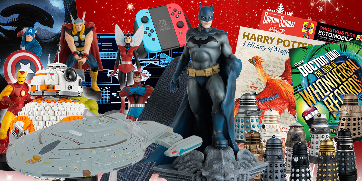 Geek Christmas Gifts.The Geek Guide To Christmas Gifts 2017 Hero Collector
