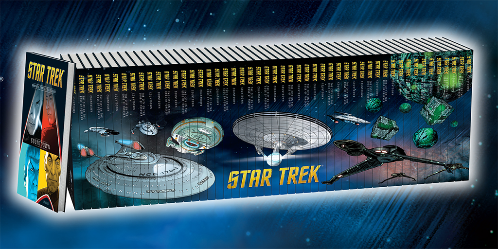Eaglemoss Licensed by IDW Comics New Star Trek The Graphic Novel Collection