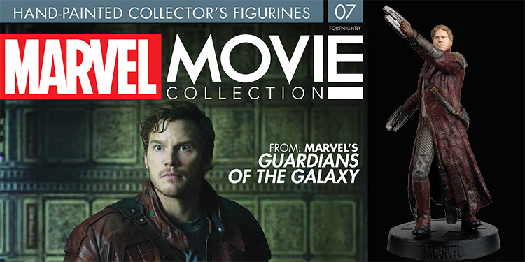 Marvel Movie Figurines 7: Star-Lord - Hero Collector