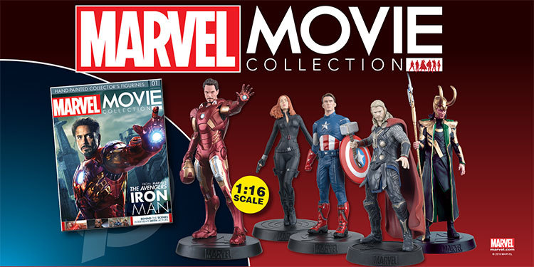 new launch marvel movie collection hero collector