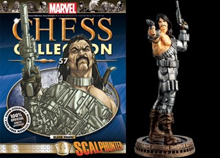 EAGLEMOSS MARVEL CHESS COLLECTION ISSUE 57 JOHN GREYCROW SCALPHUNTER