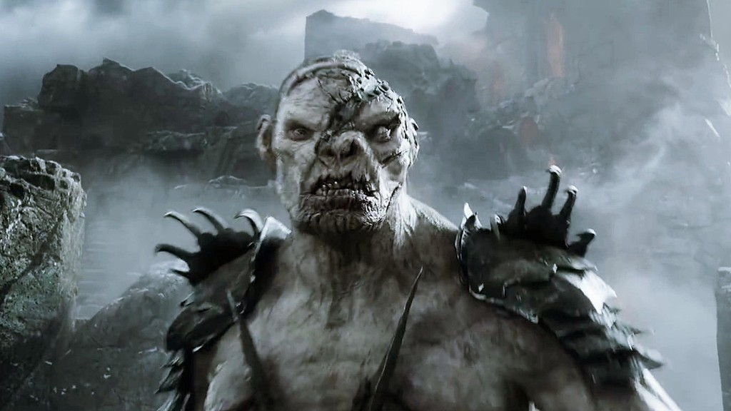 the hobbit orc acting hero collector