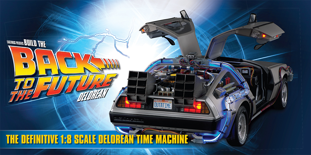 New Launch Build The Back To The Future Delorean Hero