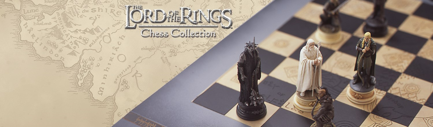 Lord Of The Rings Lord Of The Rings Chess Collection