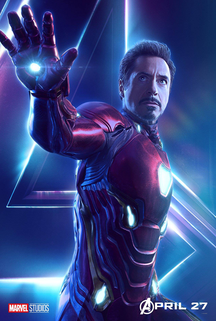 Avengers: Infinity War 22 new character posters - Hero Collector