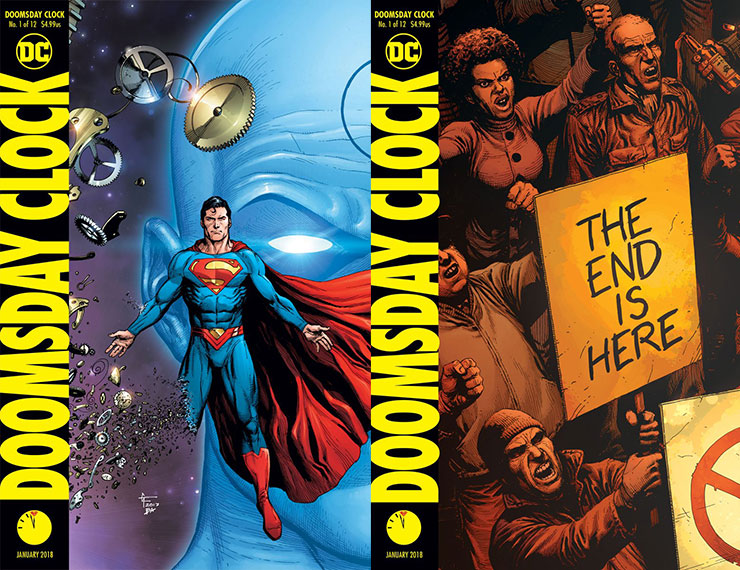 Rorschach Returns For Doomsday Clock Cover Hero Collector