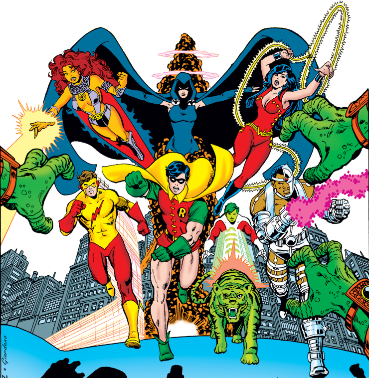 It was the 1980 relaunch of the series, New Teen Titans by Marv Wolfman and  George Perez, that established the most popular version of the team, ...