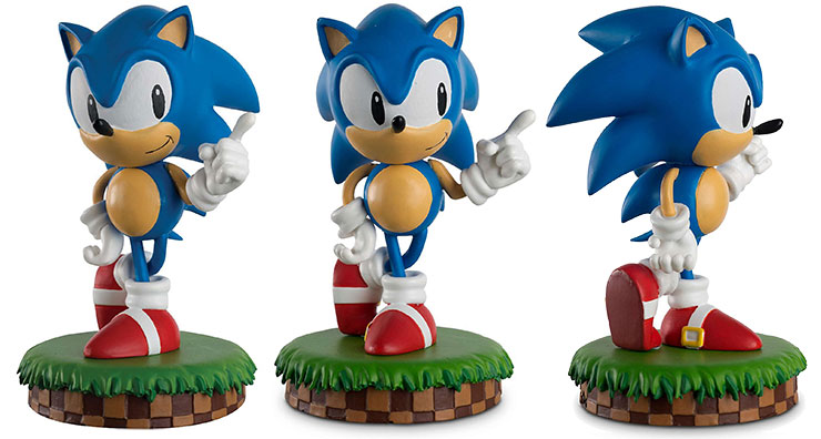 New Launch Sonic The Hedgehog Collection Hero Collector