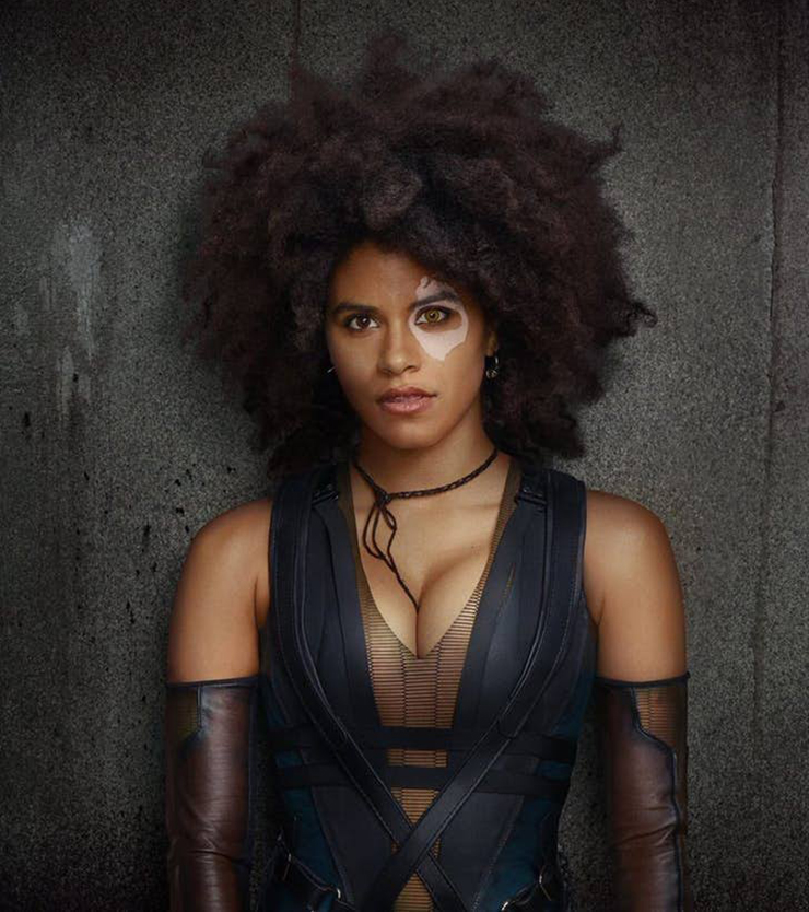 First Look At Zazie Beetz As Deadpools Domino