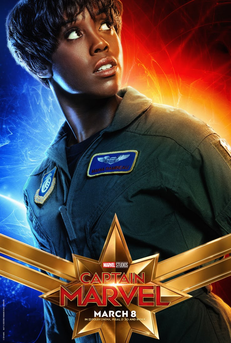 Captain Marvel Character Posters Hero Collector