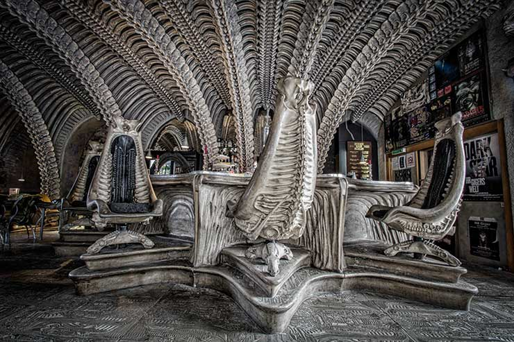 H.R. Giger, Engineer of Aliens - Hero Collector